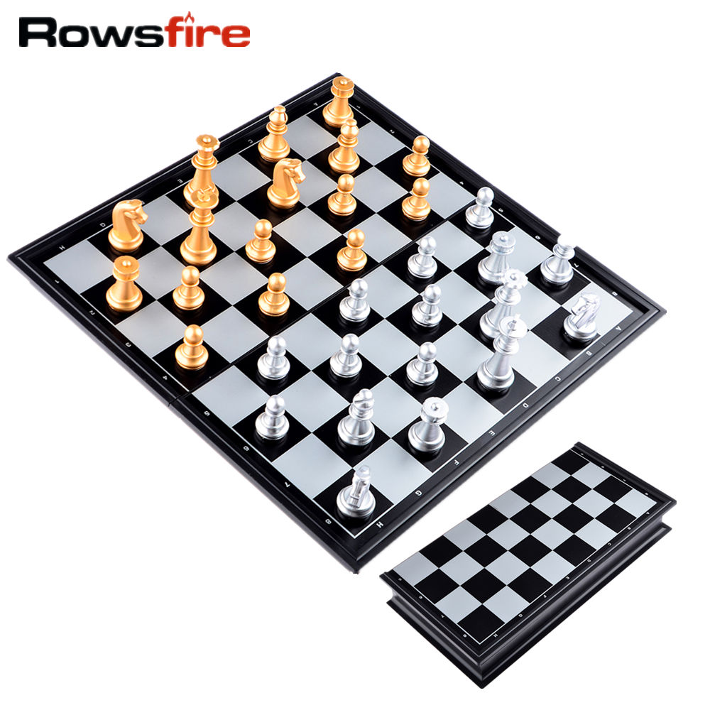 шахматная доска магнитная