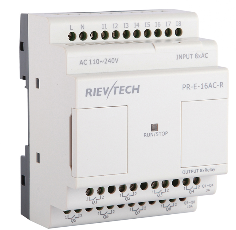 RIEVTECH,Micro Automation Sulutions Provider. Programmable Relay PR-E-16AC-R