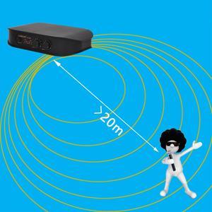 Image 2 - Lomeho LO V06 المزدوج المحمولة ترددات VHF كبسولة ديناميكية 2 قنوات ميكروفون لاسلكي ل نظام الكاريوكي