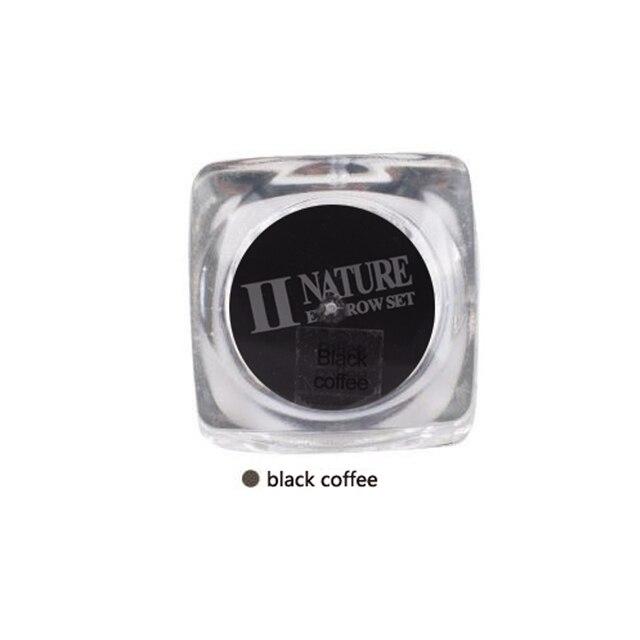Черный кофе 15 мл/бутылка Красоты Перманентный Макияж пигментные чернила Глубокой кофе Цвет чернил Татуировки Набор для татуировки бровей макияж губ