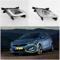 High quality DRL LED Daytime Running Lights 100%Waterproof fog lamp fit for Hyundai i30 2013 2014 2015 year