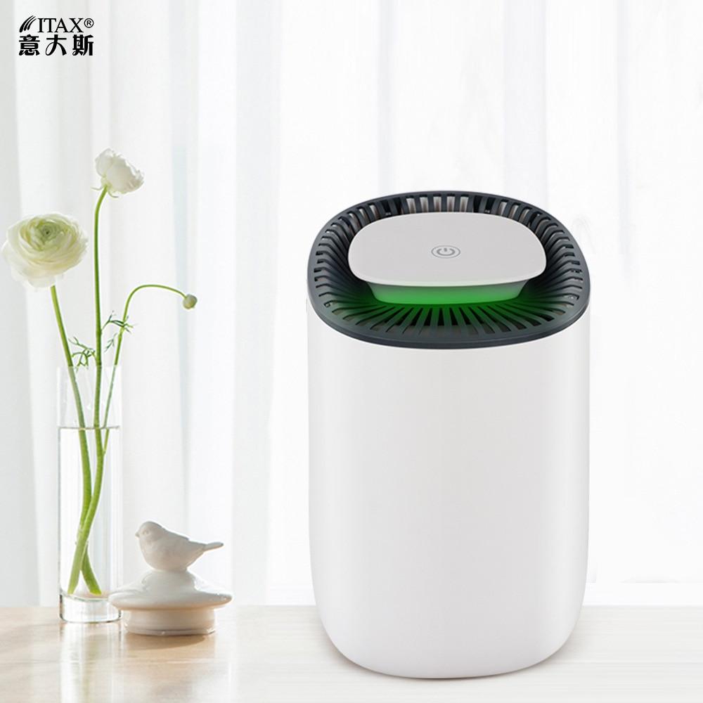 Dehumidifier semiconductor small dehumidifier mini air purifier wardrobe household ITAS5514A