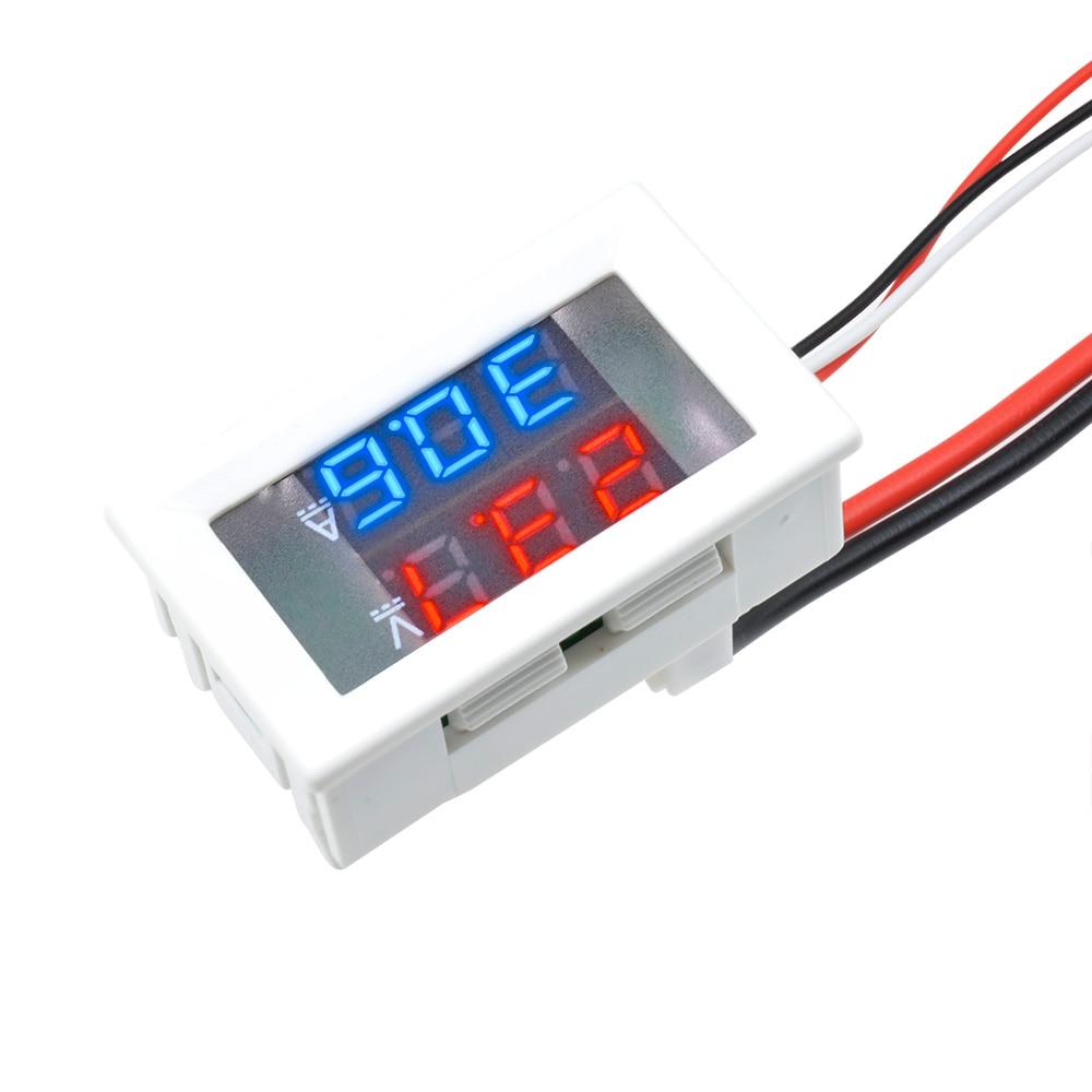 HTB1VDKsXHj1gK0jSZFOq6A7GpXaS DC 0-100V 10A 50A 100A Electronic Digital Voltmeter Ammeter 0.56'' LED Display Voltage Regulator Volt AMP Current Meter Tester