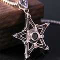 the United States are five lucky magic pendants female stars all-match angle sweater Necklace long garments accessories