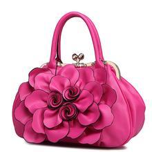 ใหม่3Dดอกไม้กระเป๋าถือสตรีTotesแฟชั่นผู้หญิงร้อนถุงMessengerผู้หญิงที่มีคุณภาพสูงกระเป๋าสะพาย