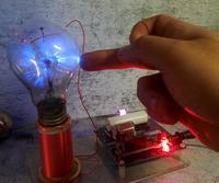 Mini SGTC Tesla Coil Amazing Flashing Generator DIY KITS Electronic Diy