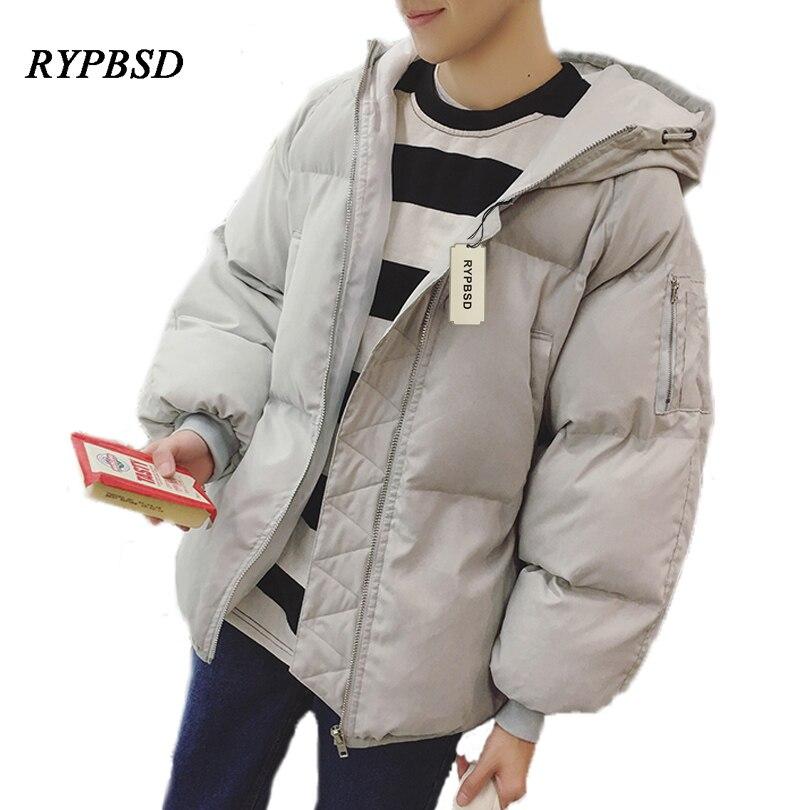Fashion Mens Winter Warm Hooded Padded Coat Youth Cotton Jacket Thick Down Parka Fashion Youth Keep Warm Men Vest Winter Jacket Jackets & Coats Vests & Waistcoats