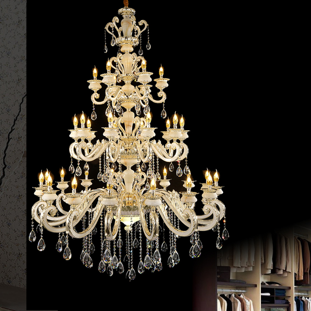 Maria theresa decorative chandelier empire led k9 handmade maria theresa decorative chandelier empire led k9 handmade chandelier hanging candle bohemian chandelier industrial large hall mozeypictures Images