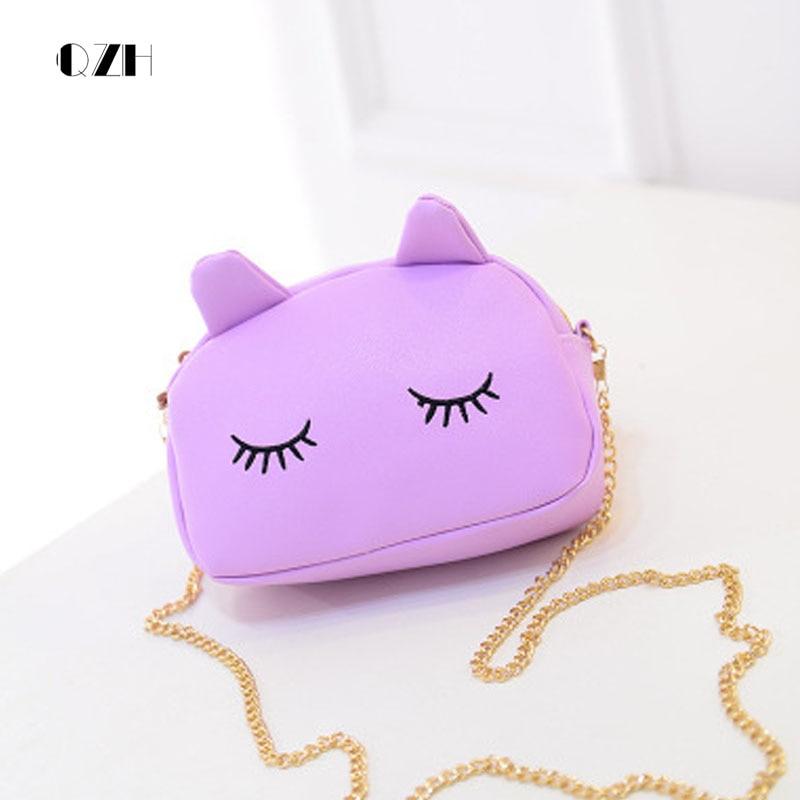 qzh women mini party handbag purse cartoon cute messenger