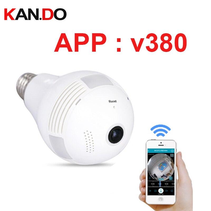 v380 HD 1.3mp 360 Degree Panorama Camera Wifi HD VR IP Camera CCTV Remote Control Security Surveillance Camera P2P VR camera e27 vga 4ch color cctv security camera quad processor remote control