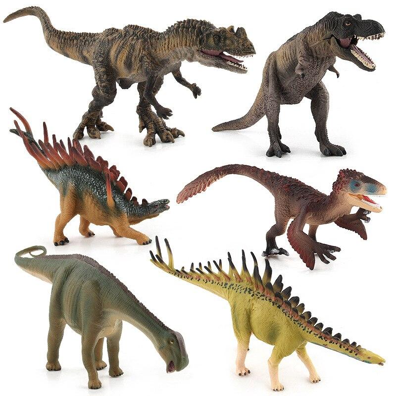 Jurassic Wild Life Dinosaur Toys Kentrosaurus Ceratosaurus Tyrannosaurus Nigersaurus Miragaia Utahraptor World Park Model Figure