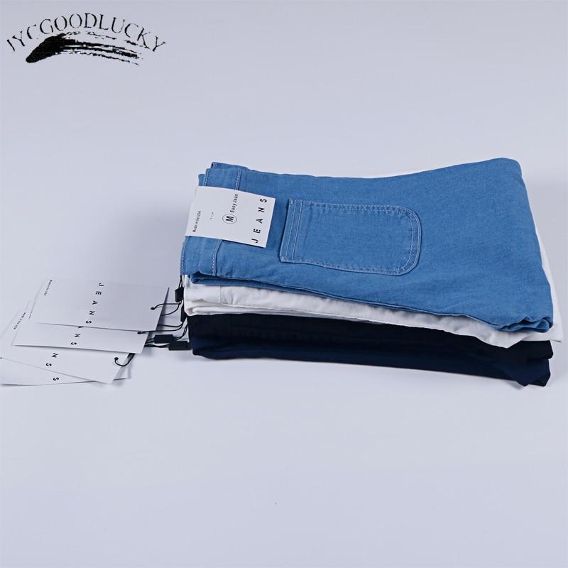 Women Stretch Black Skinny Jeans With High Waist Denim Blue Ladies Push Up White Jeans 5