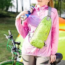 Saco de desporto Saco de Nylon Impermeável bolsa de Ombro Peito Esportes  Pacote Peito Tendência de 4f2580676c07c