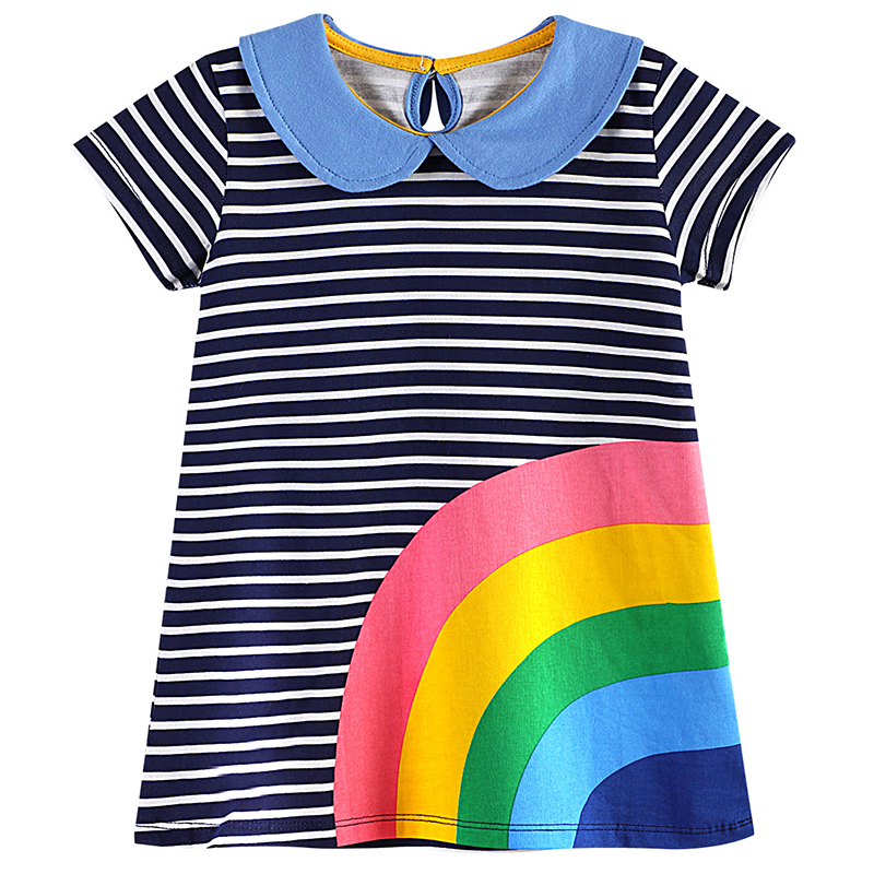 Bear Leader Girls Dresses 2018 New Brand Princess Girl Clothining Printing European and American Style Clothes For Baby Girls 100% real photo brand kids red heart sleeve dress american and european style hollow girls clothes baby girl clothes