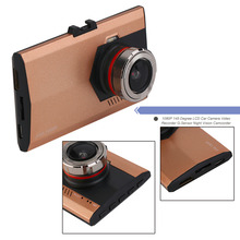 2017 new 1080P 145 Degree LCD Car Camera Vehicle DVR Dash Cam Video Recorder G-Sensor Motion Detection Night Vision Camcorder