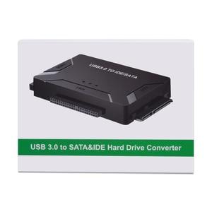 Image 5 - Адаптер CHIPAL USB 3,0 на SATA IDE 3 в 1, адаптер PATA USB3.0, преобразователь данных для ПК, ноутбука, жестких дисков 2,5 дюйма 3,5 дюйма, HDD SSD