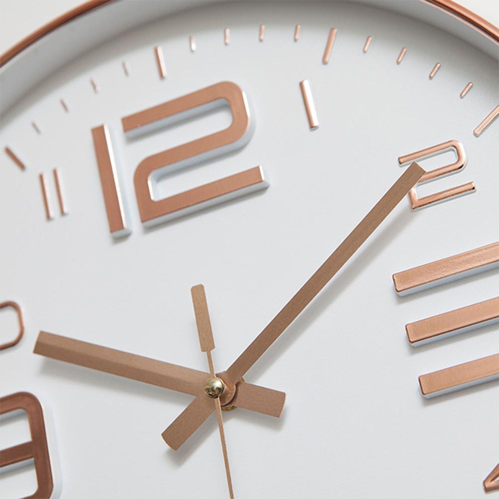 Image 4 - Modern Simple Wall Clocks Living Room Round Thin Box Home  Decoration Wall Clock Bedroom Quiet Clockhome decor wall clocksimple  wall clockwall clock