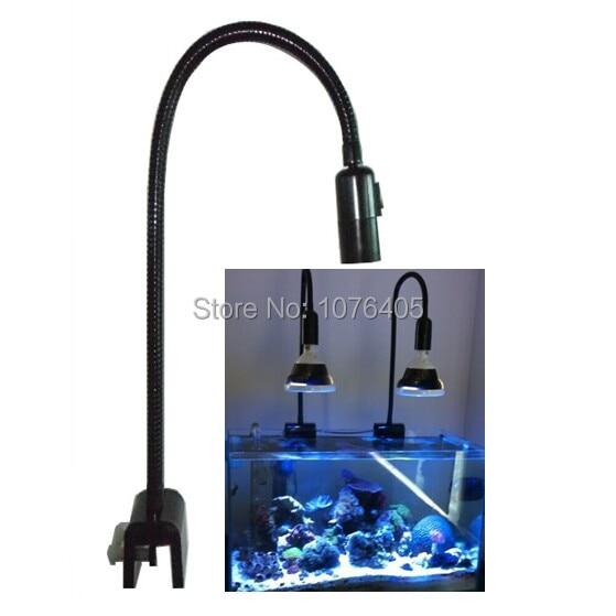 E27 lamp holder LED Aquarium Grow Light Fixtures 360degrees Lamp Bracket lamp stand gooseneck clamp аксессуар для концертного оборудования soundcraft лампа для подсветки микшерного пульта gooseneck lamp 18