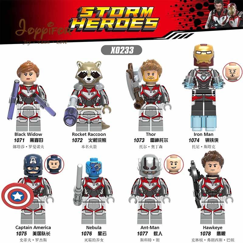 Model Building Blocks Straightforward Joyyifor Super Heroes Guardians Of The Galaxy Black Wiodw Iron Man Action Figure Bricks Building Blocks Gift For Kids Toys X0233 Great Varieties