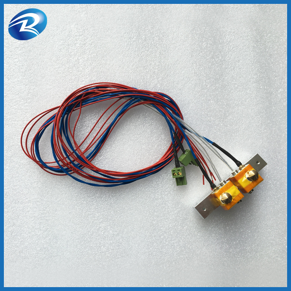 ФОТО QIDI TECHNOLOGY a set of Aluminum block with cable for 3d printer