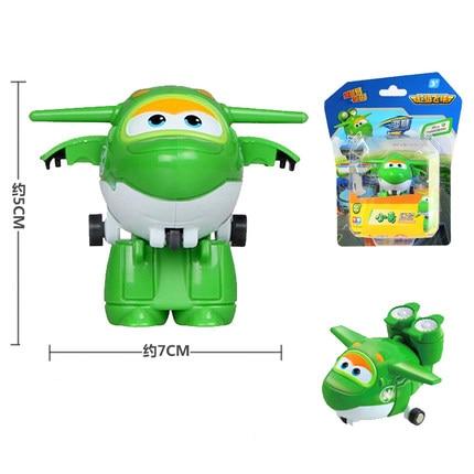 12 стилей, мини Супер Крылья, деформация, мини реактивный ABS робот, игрушка, фигурки, Супер крыло, трансформация, игрушки для детей, подарок - Цвет: With box Mira