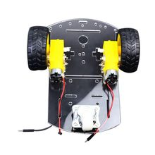 Hot New Acrylic Robot Car Chassis with Motor Wheel for uno r3 DIY Maker Educational Teaching Kit doit 2pcs lot plastic caterpillar chain track pedrail thread tracker wheel for tank crawler chassis diy rc toy remote uno r3 kit