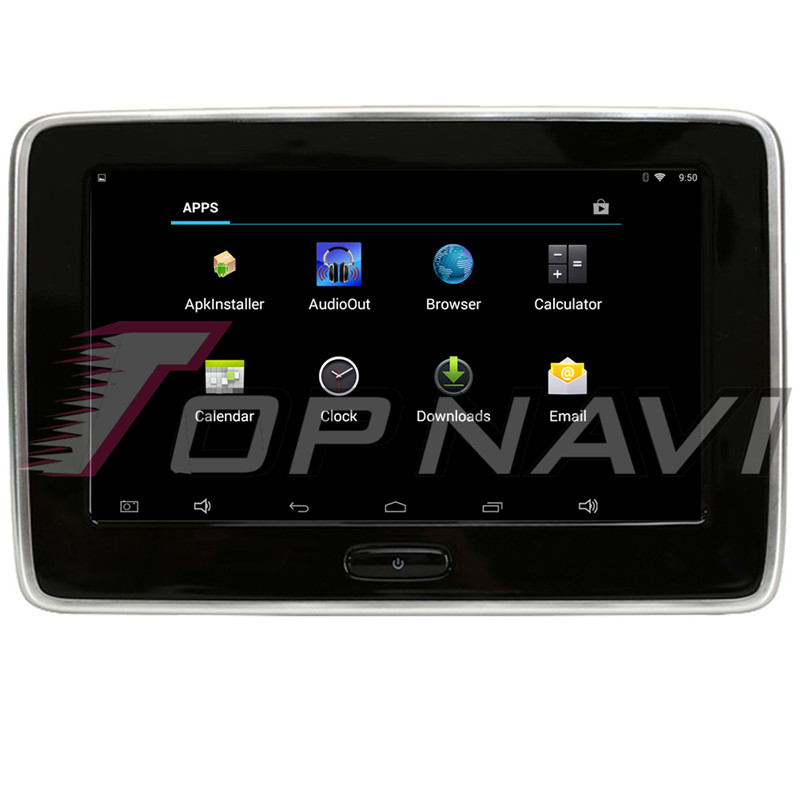 10.1 Inch Android 6.0 Car Headrest DVD Monitor Player