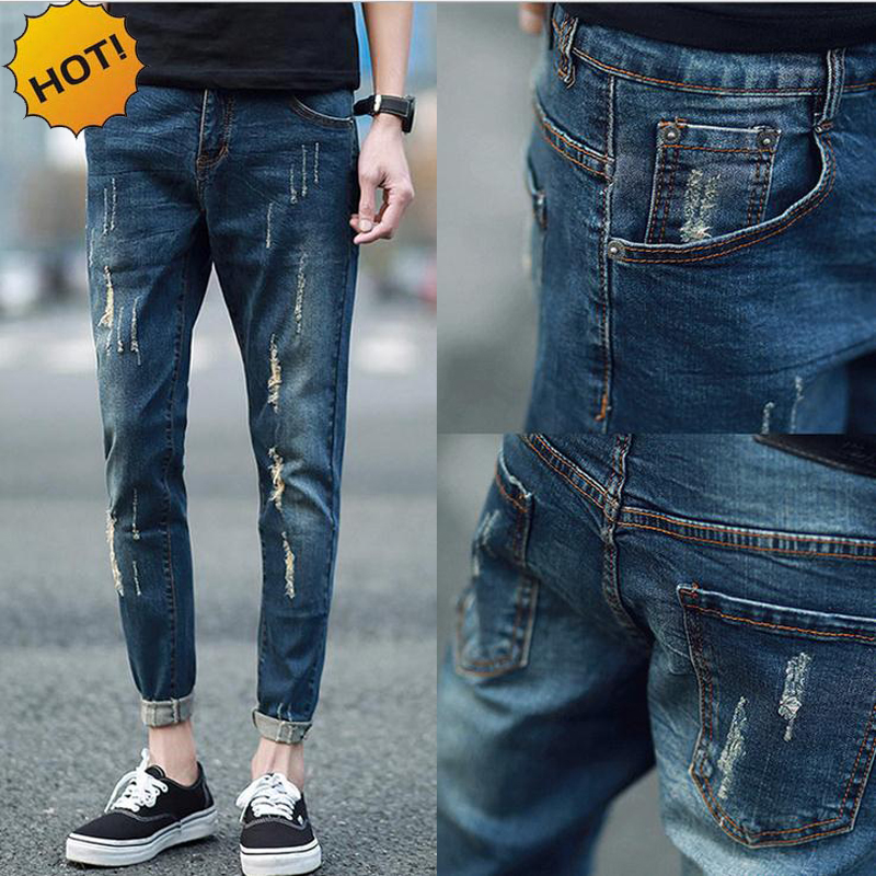 Compare Prices on Mens Cuffed Jeans- Online Shopping/Buy Low Price ...