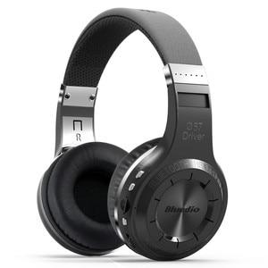 Image 1 - Original Bluedio H+ Wireless Bluetooth 5.0 Stereo Headphone Headset Earphone Foldable  Support TF Card FM free shipping