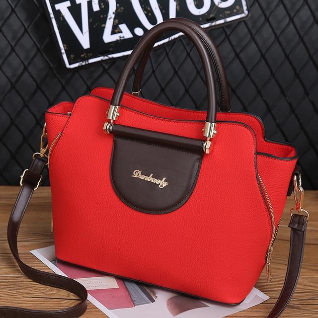 c52bc625d62 Women Bag Designer New Fashion Casual women s handbags Luxury shoulder bag  high quality PU Brand black