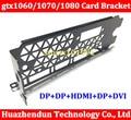 High quality Graphics Video Card Full Profile Bracket DVI+DP+HDMI For GTX980TI GTX1060/1070/1080 reference video card 12CM