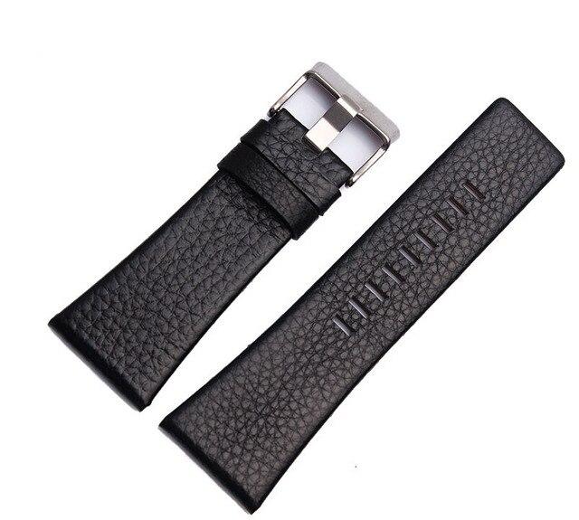 22 24 26 28 30 Beschikbaar Nieuwe Hoogwaardige Lederen Horlogebandje Band Vervanging voor Brand DZ4140 DZ1116 DZ4138