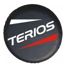 """14 """"15"""" 16 """"inç ağır PVC deri stepne lastik kapak koruyucu çanta Case kılıfı daihatsu Terios"""