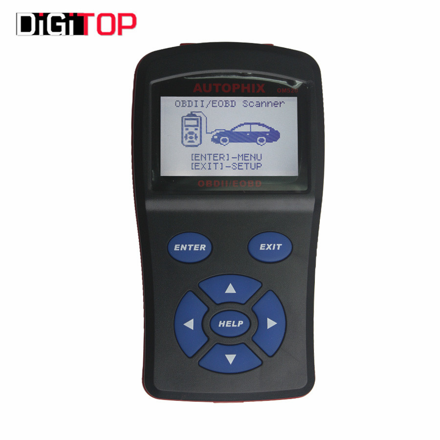 ФОТО Top Level Quality OBDMATE OM520 OBD2 Model Code Reader