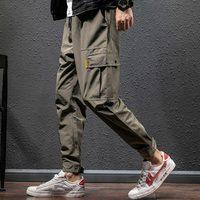 Spring Winter Fashion Harem Long Pants Men Slim Hip Hop Men Joggers cargo Trousers Streetwear Army Warm Track Pants Men