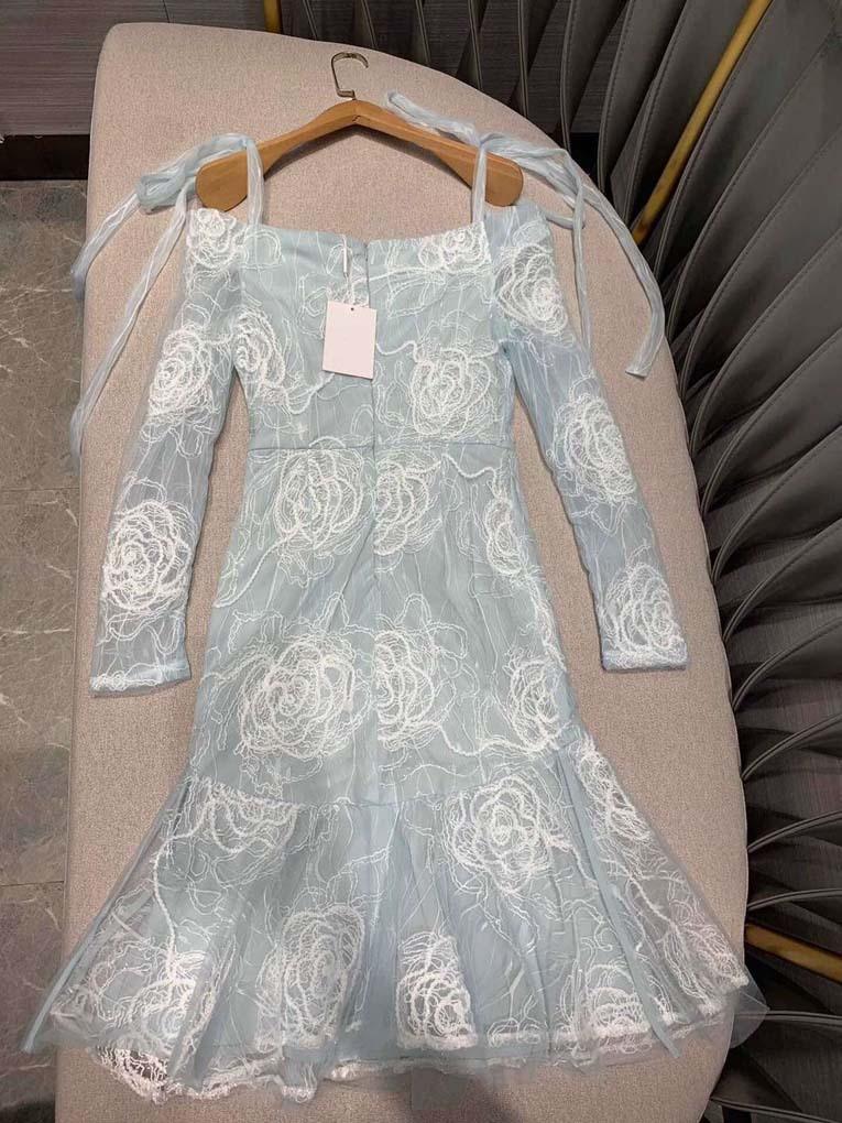 Femmes mode 2019 col en v trompette robes de sirène at190127-in Robes from Mode Femme et Accessoires    2