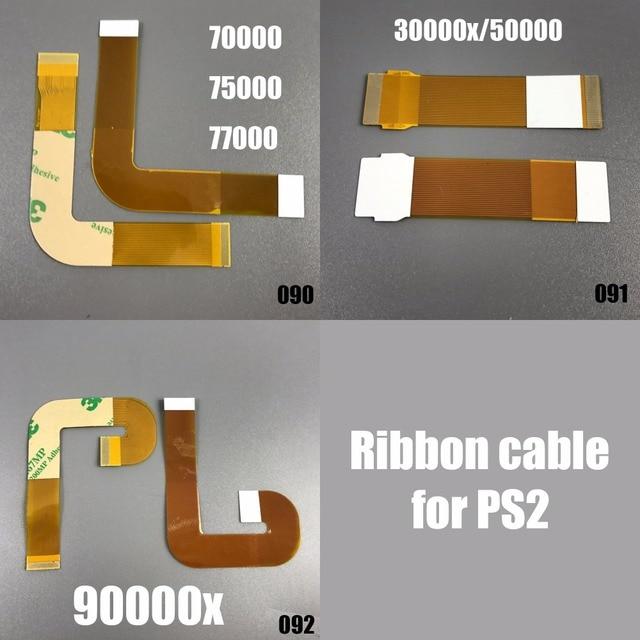 1x Para Sony PS2 Cabo Flexível Plano Flexível Cabo de Fita Da Lente Do Laser conexão SCPH 9000X 9 XXXX 70000 30000 50000 Para Sony Playstation 2