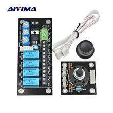 AIYIMA аудио переключатель выбор входного сигнала доска RCA Lotus сиденье стерео 4 пути реле Регулируемый аудио сигнал доска усилитель DIY AC12-15V