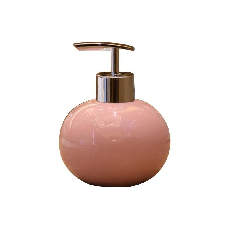 Lotion Detergent Spray Shampoo Portable Bottle Pump Travel Bathroom Ceramics Soap Dispenser Kitchen Liquid Soap Dispenser LY63