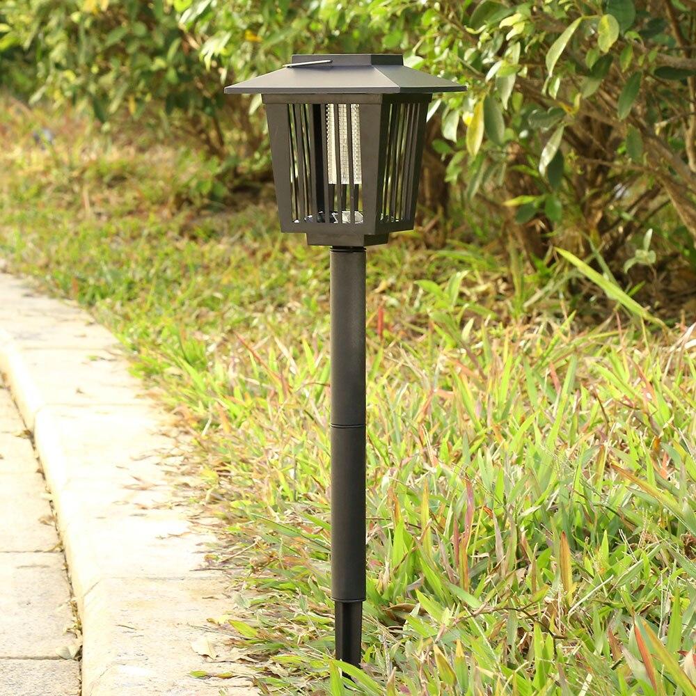 Solar Powered Mosquito Killer LED Bug Zapper Insect Killer