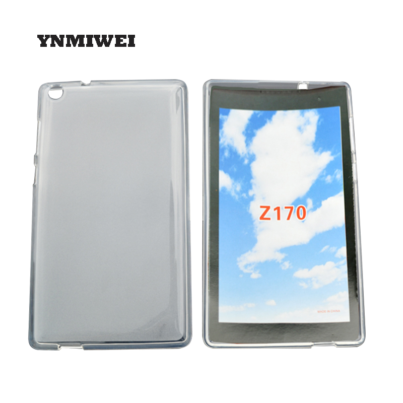 TPU Silicon Cover For Asus Zenpad C 7.0 Z170cg Z170mg Z170c Soft Tablet Protective Case Transparent Matte Shell YNMIWEI fe375 case cover soft tpu rubber silicone semi transparent back case for asus fonepad 7 fe375cg fe375cxg fe7530cxg k019 silicon
