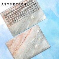 10 cái/lốc Máy Tính Xách Tay Máy Tính Xách Tay Sticker decal skin cho Macbook Air Microsoft Dell HP ASUS Lenovo Samsung ABC Bên Toàn bìa sticker