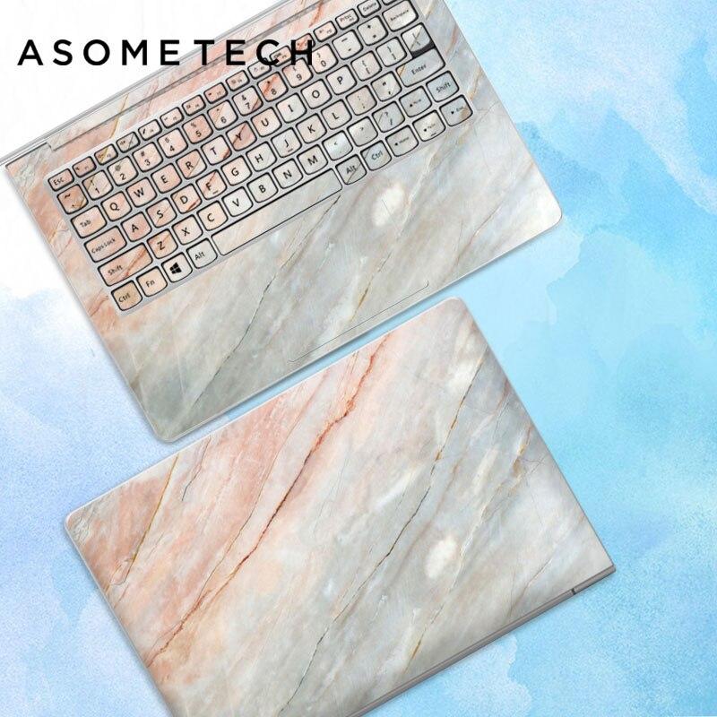 10 pcs/lot autocollant pour ordinateur portable autocollant de peau pour Macbook Air Microsoft Dell HP ASUS Lenovo Samsung ABC côtés autocollant de couverture complète