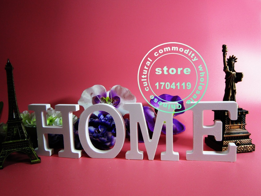 Buy highly15cm white letters digital a z for Decoration 9 letters
