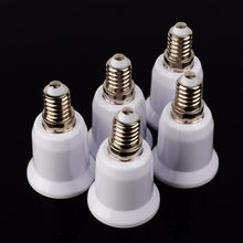 5Pcs E14 to E 27 Base Socket Mutual Conversion Lamp Holders Light Converter Adapter Lampholders For LED Corn Bulb(China)