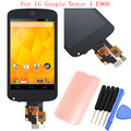 New For LG Google Nexus 4 E960 LCD Display Touch Screen with Digitizer Assembly + Tools + Adhesive, Free shipping + Track No.