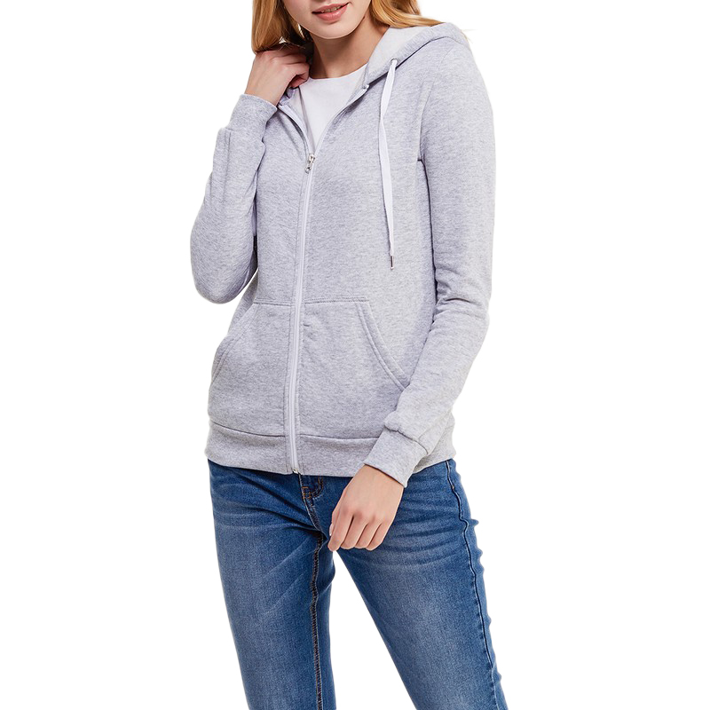 Hoodies & Sweatshirts MODIS M181S00018 woman hooded jumper sweater cotton for female TmallFS stripe pattern round neck long sleeves sweatshirts with hooded design