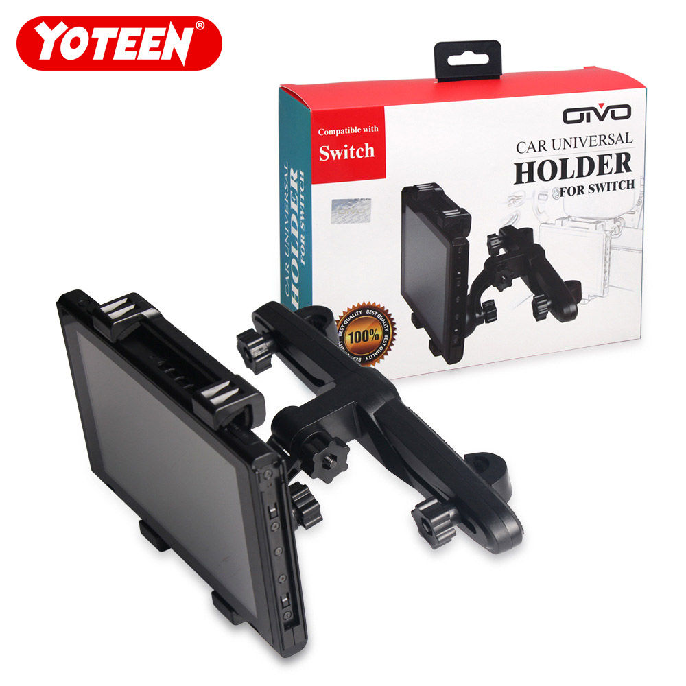 Adjustable for Nintend Switch Car Holder Stand Headrest Mount Holder for Nintendo Switch NS Console Bracket Holder Accessories iphone xs 財布