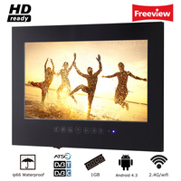 Souria 42 Inch Android 4 2 Smart WiFi 1080HD Full HD Frameless Shower Television Internet Bathroom