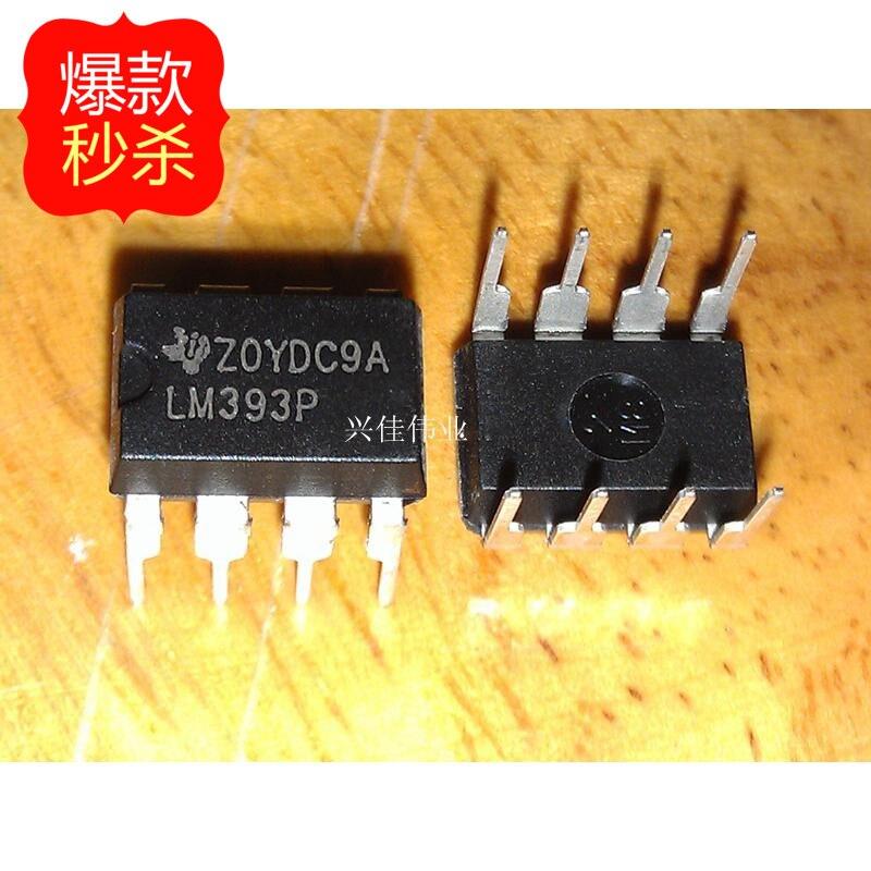 10 Pcs Die Neue Lm393 Lm393n Lm393p Dip-8 Dip Dual Differential Komparator Elegantes Und Robustes Paket